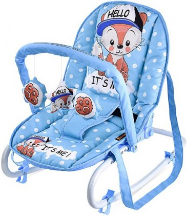 Lorelli Top Relax Blue Baby Fox (2018)