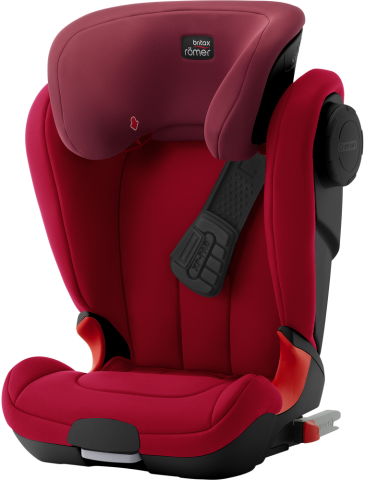 Britax Romer KIDFIX XP SICT Flame Red- black