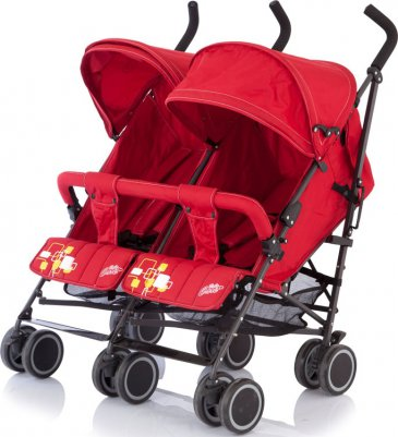 Baby Care City Twin Red