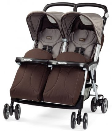 Peg-Perego Aria Twin Chocolate
