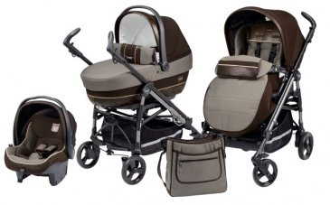 Peg-Perego Switch Four Completo Modular (3 в 1) Chocolat 2014