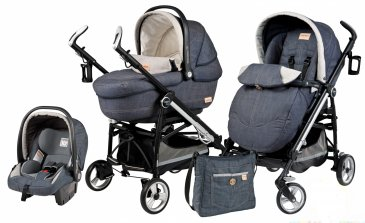 Peg-Perego Switch Four Completo Modular (3 в 1) Denim 2014