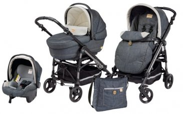Peg-Perego Pliko Switch Easy Drive Modular (3 в 1) Denim 2014