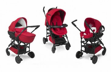 Chicco Trio Living Smart (3 в 1) Red