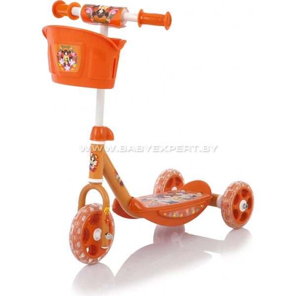 Baby Care 3 Wheel Scooter CMC008 оранжевый