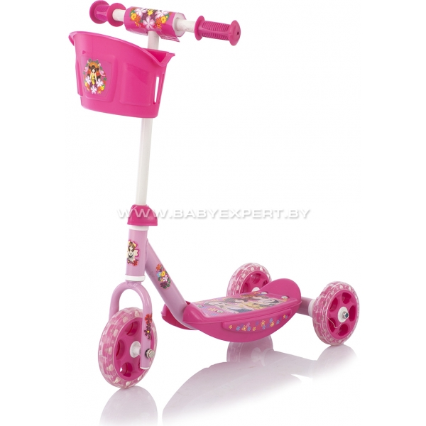 Baby Care 3 Wheel Scooter CMC008 розовый