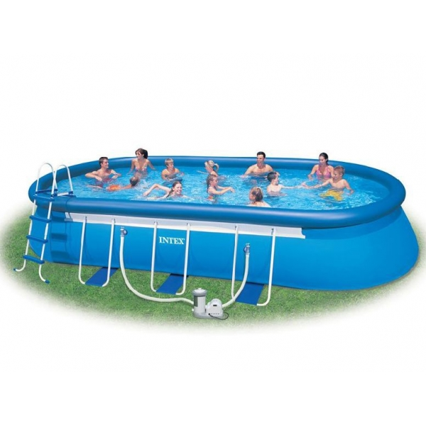 Oval Frame Pool 549х305х107 (54932)