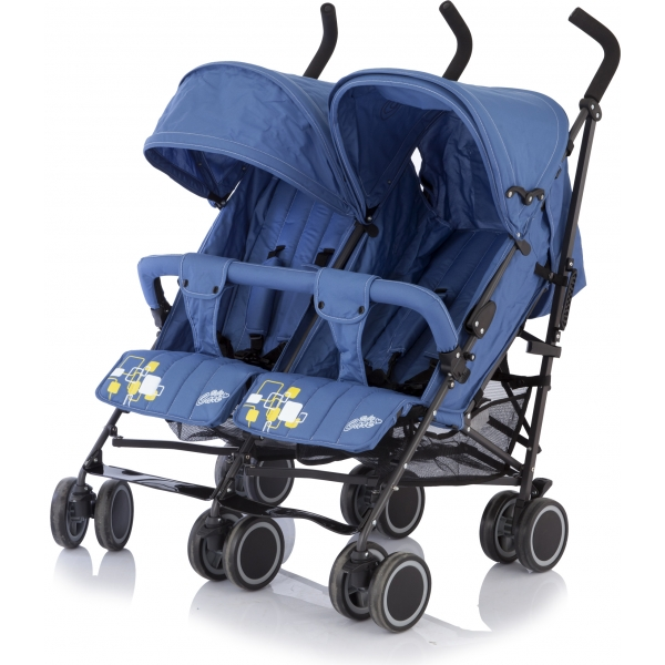 Baby Care City Twin Blue